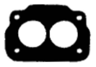 Carb gasket Rochester 2 bbl open