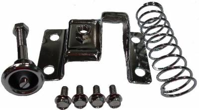 Body Components - Hood Accessories - Precision Racing Components - 1967 - 1981 Camaro Chrome Hood Latch