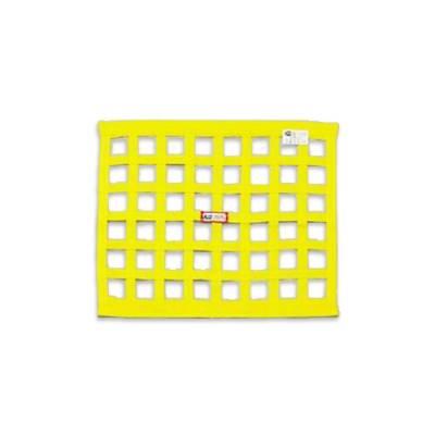 "Yellow Ribbon Window Nets-18""x 24""-SFI Rated"