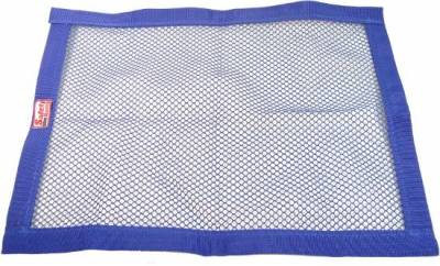 """Safety & Seats - Seat Belts, Safety Harnesses, Window Nets & Components - Precision Racing Components - 18""""x24"""" Blue Mesh Window Net"""