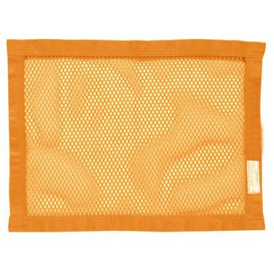 """Safety & Seats - Seat Belts, Safety Harnesses, Window Nets & Components - Precision Racing Components - 18""""x24""""Orange Mesh Window Net"""