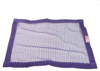 """Safety & Seats - Seat Belts, Safety Harnesses, Window Nets & Components - Precision Racing Components - 18""""x24"""" Purple Mesh Window Net"""