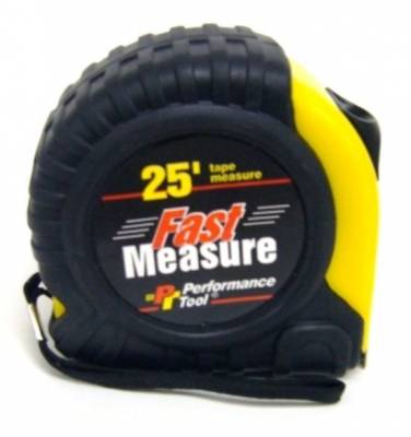 Tools, Shop & Pit Equipment - Scales & Set Up Tools - Precision Racing Components - HEAVY DUTY 25-FOOT TAPE MEASURE