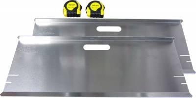 Tools, Shop & Pit Equipment - Scales & Set Up Tools - Precision Racing Components - PRC Aluminum Toe Plates