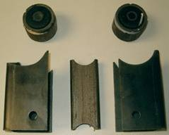 """Transmission & Drivetrain - Transmissions & Accessories - Precision Racing Components - 9"""" Weld-on Brackets"""