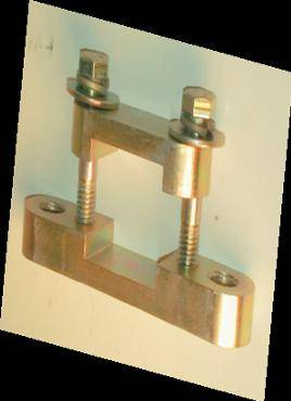 "Suspension & Shock Components - J-Bars, Pinion Mounts & Components - Precision Racing Components - Double Sided Steel Mount - 2"" Square x 3/4"""