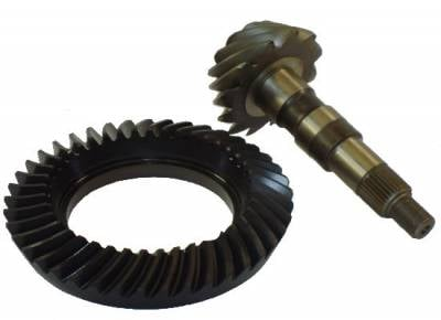 "Ring & Pinion - Gear Sets - Precision Racing Components - GM 8.5"" 10 Bolt 4.11 Ratio Ring & Pinion Set"