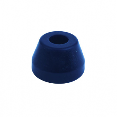 Suspension & Shock Components - Pull Bars & Torque Links - Quick Car - QuickCar 66-501 Replacement Pull Bar Biscuit Bushing Blue Extra Soft