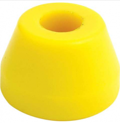 Suspension & Shock Components - Pull Bars & Torque Links - Quick Car - QuickCar 66-502 Replacement Pull Bar Biscuit Bushing Yellow Soft