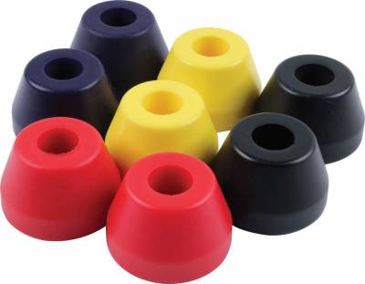 "Suspension & Shock Components - Pull Bars & Torque Links - Quick Car - Torque Link Bushing 2 1/8"" OD-Medium/Soft (Orange)"