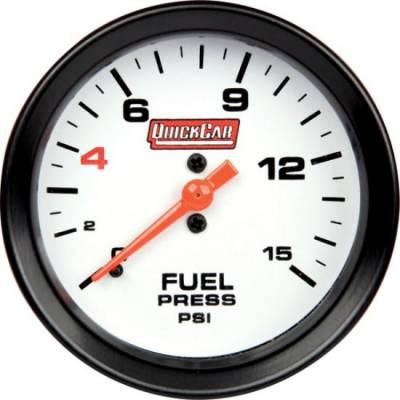 "QuickCar 611-7000 Extreme Gauge Series Fuel Pressure Gauge 2-5/8"""