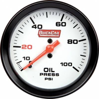 "Gauges & Accessories - Oil Temp & Pressure Gauges - Quick Car - QuickCar 611-7003 Extreme Gauge Series Oil Pressure Gauge 2-5/8"""