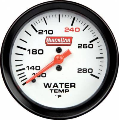 "Gauges & Accessories - Water Temp & Pressure Gauges - Quick Car - QuickCar 611-7006 Extreme Gauge Series Water Temp Gauge 2-5/8"""