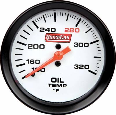 "Gauges & Accessories - Oil Temp & Pressure Gauges - Quick Car - QuickCar 611-7009 Extreme Gauge Series Oil Temp Gauge 2-5/8"""