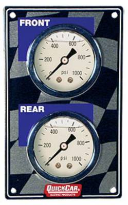 Gauges & Accessories - Gauge Panels - Quick Car - QuickCar 61-101 Vertical Mini Brake Bias Gauge Panel 1500 PSI