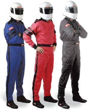 Driving Suits - Racequip Single Layer Suits - Racequip - 3X Single Layer SFI Jacket-Black