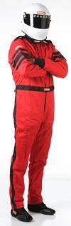 Driving Suits - Racequip Double Layer Suits - Racequip - Large Racequip Double Layer Jacket-Red