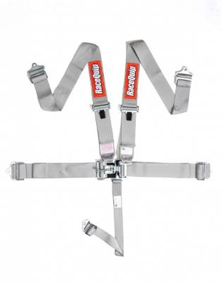 Safety & Seats - Seat Belts, Safety Harnesses, Window Nets & Components - Racequip - Racequip Platinum 5 Point 16.1 SFI Latch & Link Belt Set