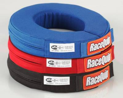 Safety & Seats - Neck Collars & Helmet Restraints - Racequip - Racequip SFI 360 Neck Brace-Blue