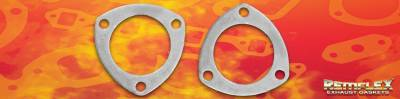 Remflex Exhaust Gaskets - Remflex Exhaust Gaskets 3-1/2 Universal collector flange gasket 3-25/32 bh spacing