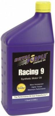 Oil, Fuel, Fluids, & Cleaners - Engine Oil - Royal Purple Lubricants - Royal Purple Racing 9 Synthetic Racing Oil 0W-10 Quart