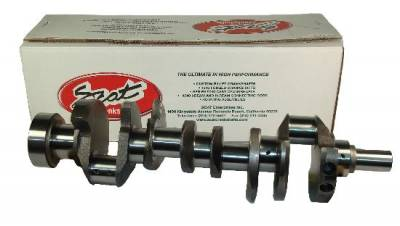 "Crankshafts - SCAT Pro Stock Cast Steel Crankshafts - Scat - Scat 9000 Series Cast Steel Crankshaft-454 BB Chevy-2 piece rear main-6.385"" rod- 4.250"" stroke"