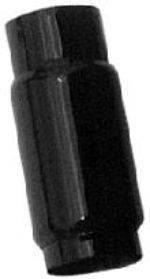 """Schoenfeld - 8"""" Long Muffler 3 1/2"""" Inlet /3 1/2"""" Outlet-4"""" Diameter"""