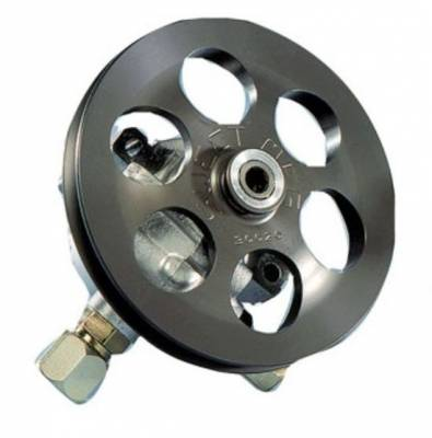 Steering - Power Steering Pumps & Accessories - Sweet Manufacturing - Sweet Aluminum Power Steering Pump - V-Belt Pulley