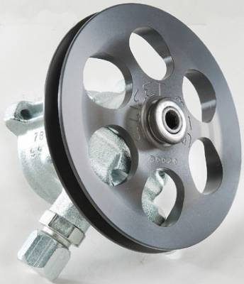Steering - Power Steering Pumps & Accessories - Sweet Manufacturing - Sweet Aluminum Power Steering Pump with Serpentine Pulley