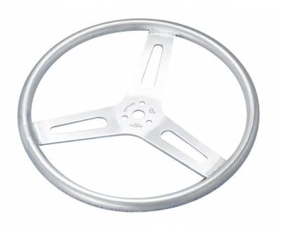 "Sweet Manufacturing - 15"" Lightweight Aluminum Dished Steering Wheel"