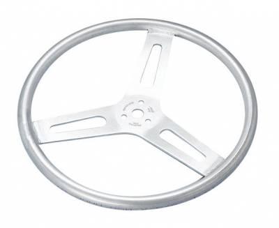 "Steering - Steering Wheels, Quick Releases & Hubs - Sweet Manufacturing - 15"" Lightweight Aluminum Flat Steering Wheel"