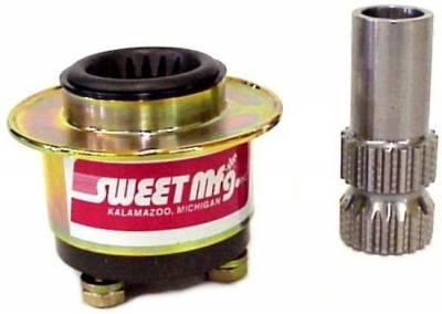 Steering - Steering Wheels, Quick Releases & Hubs - Sweet Manufacturing - Sweet Steering Wheel Quick Release Hub