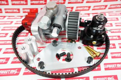 Sweet Manufacturing - Sweet Tandem Fuel Pump/Power Steering Pump Assembly