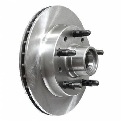Brakes - Brake Rotors & Drums - US Brake - AFCO Hybrid Front Brake Rotors