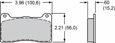 "Wilwood - Wilwood-PolyMatrix ""E"" Disc Brake Pads"