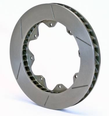 "Wilwood - Wilwood 160-6902 GT40 Slotted 40 Curved Vane 1.25"" Rotor"