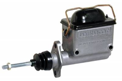 "Brakes - Master Cylinders - Wilwood - Wilwood 260-6766 High Volume Aluminum Brake & Clutch Master Cylinder 1"" Bore"