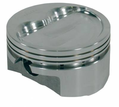 Pistons & Rings - Pistons - Wiseco - Pro-True Flat Reverse Dome Pistons Small Block Chevy Cubic Inch 383 Rod length 5.7 Stroke 3.750