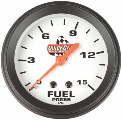 """QuickCar 611-6000 Replacement 2-5/8"""" Fuel Pressure Gauge 1/8"""" NPT Male Fitting"""
