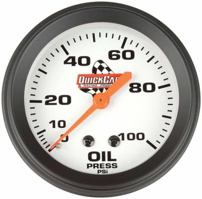 "Quick Car - 2-5/8"" Oil Pressure Gauge"