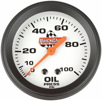 "Gauges & Accessories - Oil Temp & Pressure Gauges - Quick Car - QuickCar 611-6003 Analog 2-5/8"" Replacement Oil Pressure Gauge w/ 1/8"" NPT Male"
