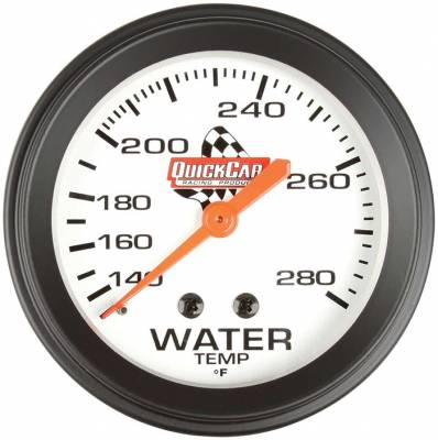 "Gauges & Accessories - Water Temp & Pressure Gauges - Quick Car - QuickCar 611-6006 Analog 2-5/8"" Replacement Water Temperature Gauge 140-280*"