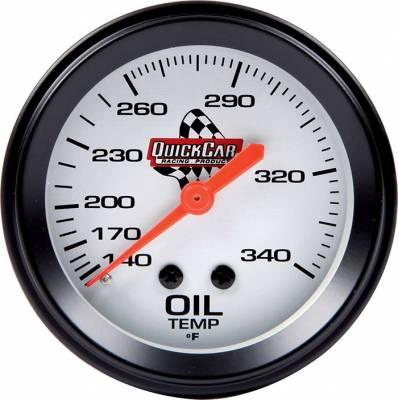 Gauges & Accessories - Oil Temp & Pressure Gauges - Quick Car - QuickCar 611-6009 Oil Temperature Gauge 2-5/8in 140-280F Range
