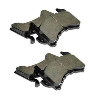 Brakes - Brake Pads - AFCO - AFCO  6653002  GM Metric Pads SR32 Compound Low Grip