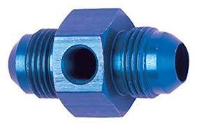 Bulkhead Fittings - Bulkhead Union Fittings - Fragola - -8 INLINE FUEL PRESS ADAPTER