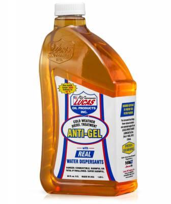 Lucas Oil - Lucas Oil 10866 Anti-Gel Cold Weather Diesel Treatment - 1/2 Gallon