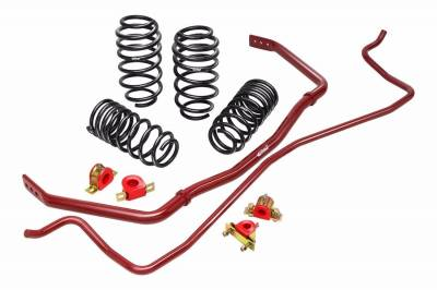Suspension & Shock Components - Sway Bars & Components - Eibach Springs - Eibach 38144.880 Pro Plus Spring & Sway Bar Kit for 2010-2011 Chevy Camaro SS