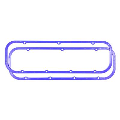 Engine Gaskets - Valve Cover Gaskets - Moroso - Moroso 93040 Perm-Align Rubber Reusable Valve Cover Gaskets With Steel Core BBC