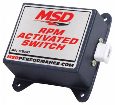 Ignition Boxes, Modules & Rev Limiters - Rev-Limiters & RPM Module Selectors - MSD - MSD 8950 RPM Activated Ground Switch