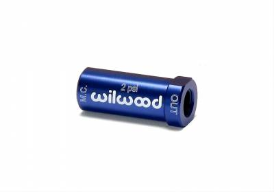 Brakes - Brake Accessories - Wilwood - Wilwood 260-13706 Blue Aluminum Residual Brake Pressure Valve 2 PSI